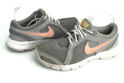 f1267af570e7 Nike Flex Experience RN 2 Women s Gray Athletic Running Sneaker Shoes Size  7.5