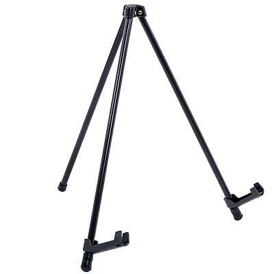 """14"""" Steel Tabletop Instant Display Easel, Portable Tripod Stand, Pictures, Signs"""