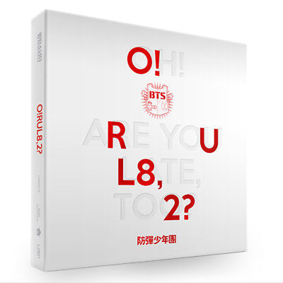 BTS 1st Mini Album [O!RUL8,2?] CD K-POP Photo Cards 2pcs(random)+74p