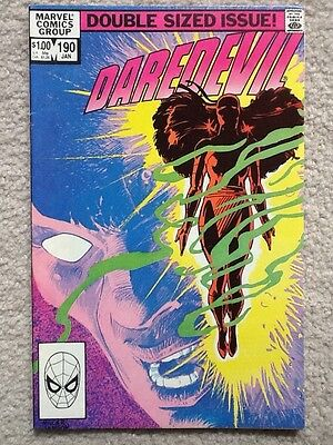 Daredevil 190 Resurrection of Elektra FINE 1983 Frank Miller