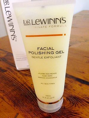 Dr Lewinn's Facial Polishing Gel 150g BNIB Skin Care