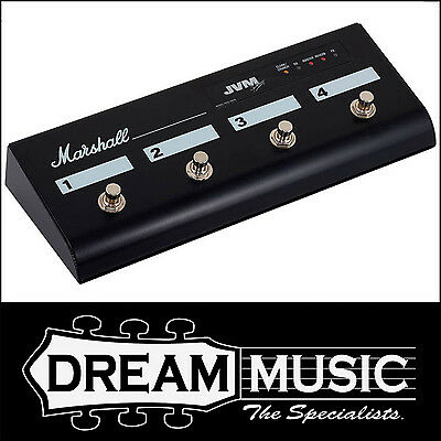 Marshall 4 Four Button Footswitch PEDL-91006 JVM 2 Series Foot Controller $189