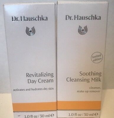 1-Dr. Hauschka Soothing Cleansing Milk  Cleanser 30 ml. 1-Revitalizing Day Cream