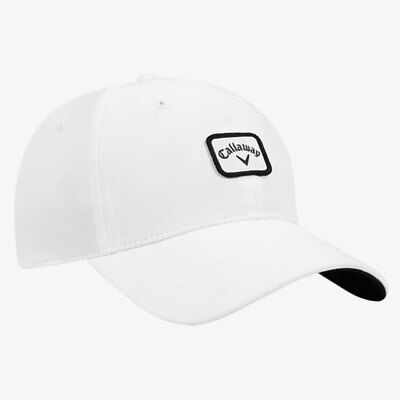 83fc7b430a1 CALLAWAY GOLF 82 Label Fitted Cap   Hat Size  S m White black New ...