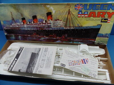 "1/568  Revell  (1971  / H-311): Ocean Liner  ""Qeen Mary """