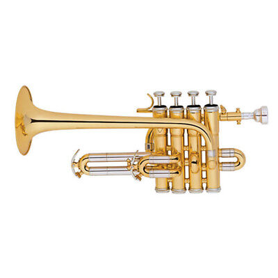Piccolo Trumpet Bb/A  Treble Trumpet Kit Brass Instrument