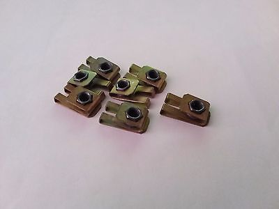 18 ea CLIP NUTS P/N 3D0045-3-1 new UNSEALED.