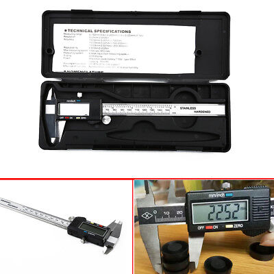 6 inch 0-150mm/0.01mm Electronic Digital Vernier Caliper Accurate Guage