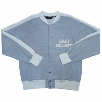 2af709e0c992 A BATHING APE BAPE EXCLUSIVE logo sweat stadium GRAY M -  105.00 ...