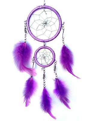 Handmade Dream Catcher Wall or Car Hanging Decoration Ornament ( with a B... New