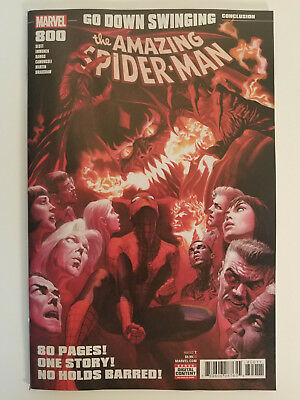 Amazing Spider-Man #800 Regular Cover Alex Ross Nm