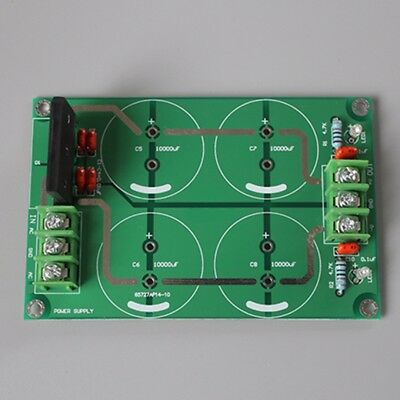 25A Dual Power Rectifier Filter Board Audio For TDA8920 LM3886 TDA7293 Amplifier