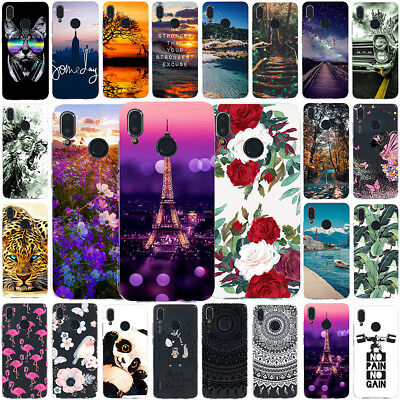 For Huawei P20 Lite Pro P9 Lite 2017 Painted Slim Soft TPU Shockproof Cover Case