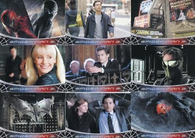 Spider-Man 3 Movie Base Card Set 79 Cards