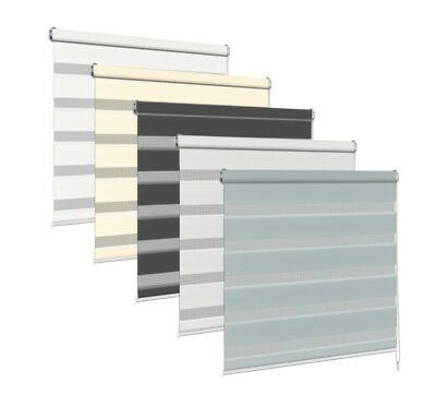Day Night Blind Roller Blinds 2.0 Made To Measure Zebra Many Sizes Colours Tape