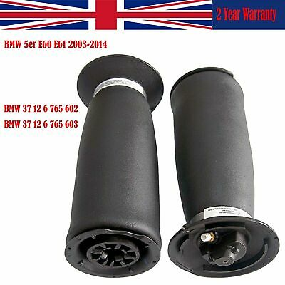 2X Air Suspension Spring 37126765602 Fit BMW 5er E61/60 530d 525i 535d Rear