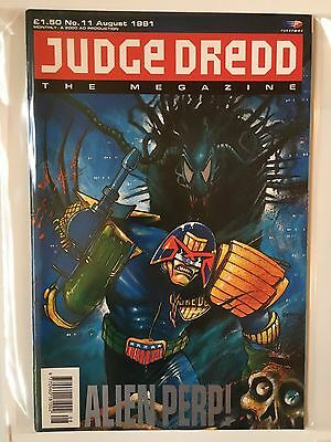 JUDGE DREDD THE MEGAZINE #11 AUGUST 1991 2000AD Near Mint Condition