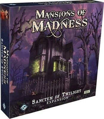 Mansions Of Madness Board Game: Sanctum Of Twilight Expansion