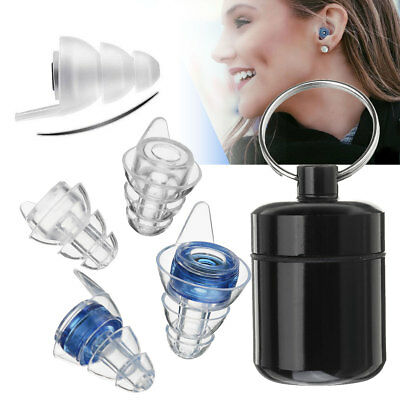 21db Ear Plugs Noise Canceling Reduction Hearing Protector Concert Music Sleep