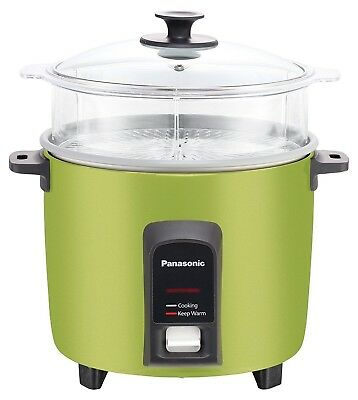 panasonic sr y18fgj rice cooker steamer silver 10 cup 34 99 rh picclick com Nonstick Rice Cooker National Panasonic Rice Cooker