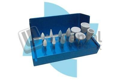 ATTRITOR -RA- Composite Polishing  & Adjusting Kit 12 pieces Assorted - M 123538
