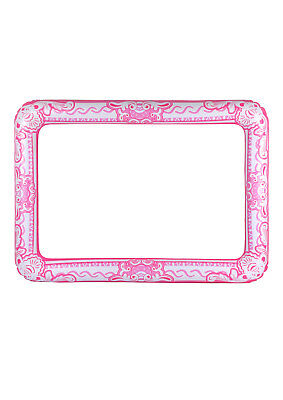 PINK GIANT INFLATABLE PHOTO FRAME - Selfie Booth Props - Blow Up Hen Party