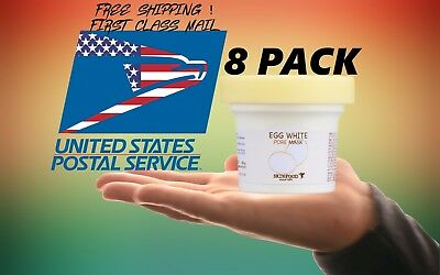 SKINFOOD [Skin Food] Egg White Pore Mask 125g FAST SHIP! FROM USA *8 PACK*