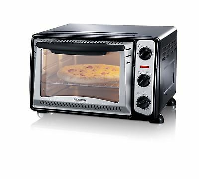 Severin To2034 20 Ltr Mini / Counter Top Oven, Black, Timer (N)