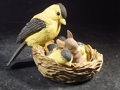 Charming Tails Silvestri SLUMBER PARTY Bird & Mouse In Nest 89/560 MIB