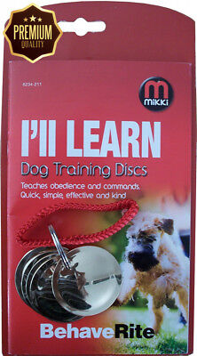 Mikki Dog Training Discs for Obedience and Agility