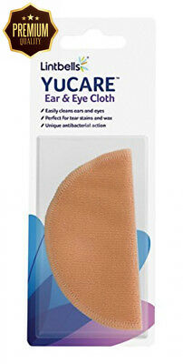 Lintbells Limited YuCare Microfibre Dog & Cat Eye Ear Cleaner Cloth