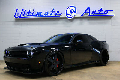 "Dodge Challenger SRT Hellcat 24"" AlphaOne Wheels. Pirelli Tires. JL Audio Stereo. Gloss/Matte Black Paint."