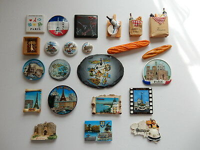 One Selected 3D Souvenir Fridge Magnet from France