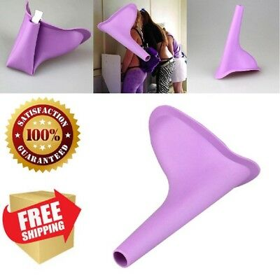 New Design Silicone Women Female Urinal Stand Up And Pee Outdoor Travel Portable