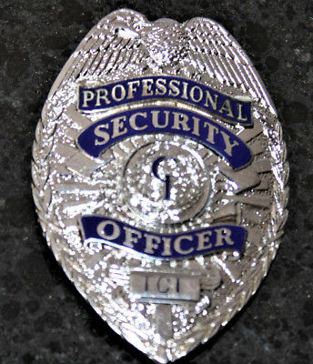 CI Professional Security Officer Badge numbered TC1