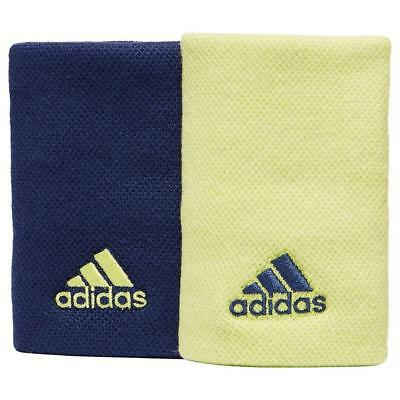 New Adidas Large Tennis Wristbands Fitness Sweat Bands Sports