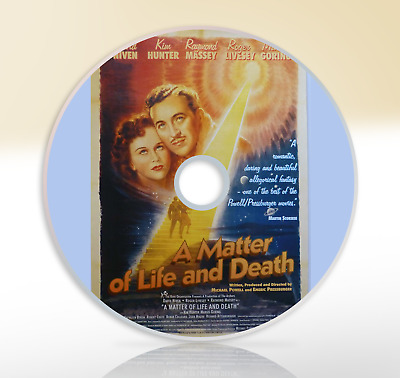 Stairway To Heaven (1946) (A Matter Of Life And Death) DVD Fantasy Movie / Film