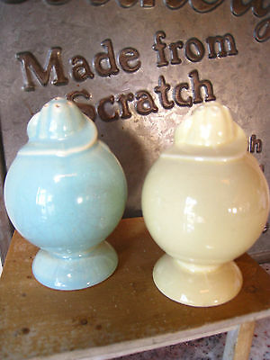 Vintage T.S.&T Lu-Ray Pastels Salt and Pepper Shakers REDUCED!