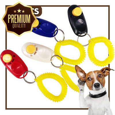 iNeith Dog Training Clickers Pet Puppy Kitten Cat Obedience Aid with Wrist...