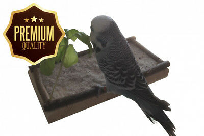 Platform for Birds, the best bird accessories Birdcage or aviary