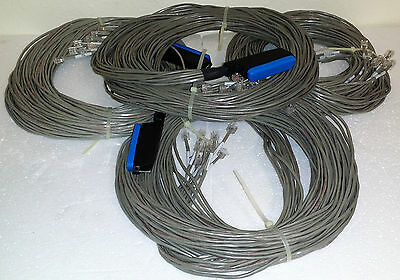 Amphenol Telco CAT3 25-Pair Male to 12 RJ Poistions, 15 Feet long Breakout Cable