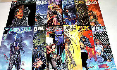 WITCHBLADE TWELVE (12) COMICS #11 TO #29 RANGE  HOT BABE Free Shipping