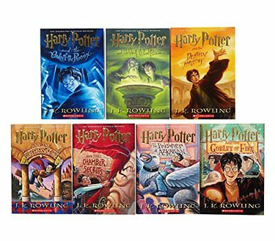 HARRY POTTER BOX SET BOOKS 1-7 by J. K. Rowling (Paperback) Collectors Edition