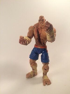 """Street Fighter Brand NEW Factory Sealed-In-Box 3/"""" Bobble Budds Sagat"""