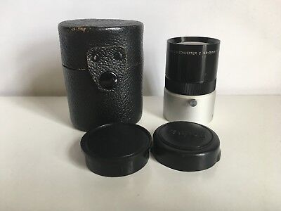 Canon C-8 Converter 2   6.5 - 26mm 1:1.7 Lens with Leather case