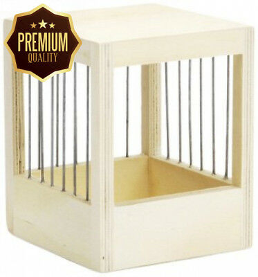 Beeztees Breeding Cage with Bars Canary Wood, Small