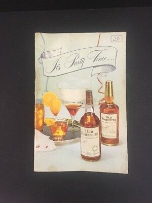 It's Party Time With Old Forester Party Planning, Hints for the Drink Maker 50's