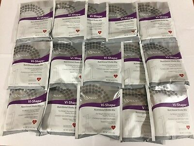 Body By Vi Shape Shake Mix Out of Box  15 Single Serving Packets Exp 01/2021