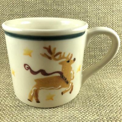 Up On The Roof Top Reindeer Noble Excellence Mug Hartstone