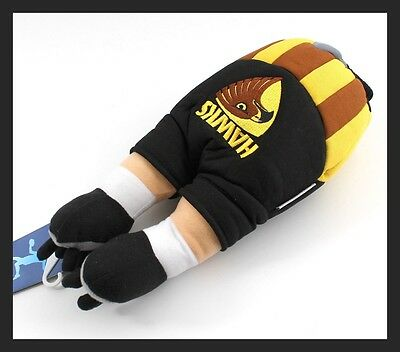 Afl Driver Head Cover - Official Afl Merchandise - Hawthorn - New!